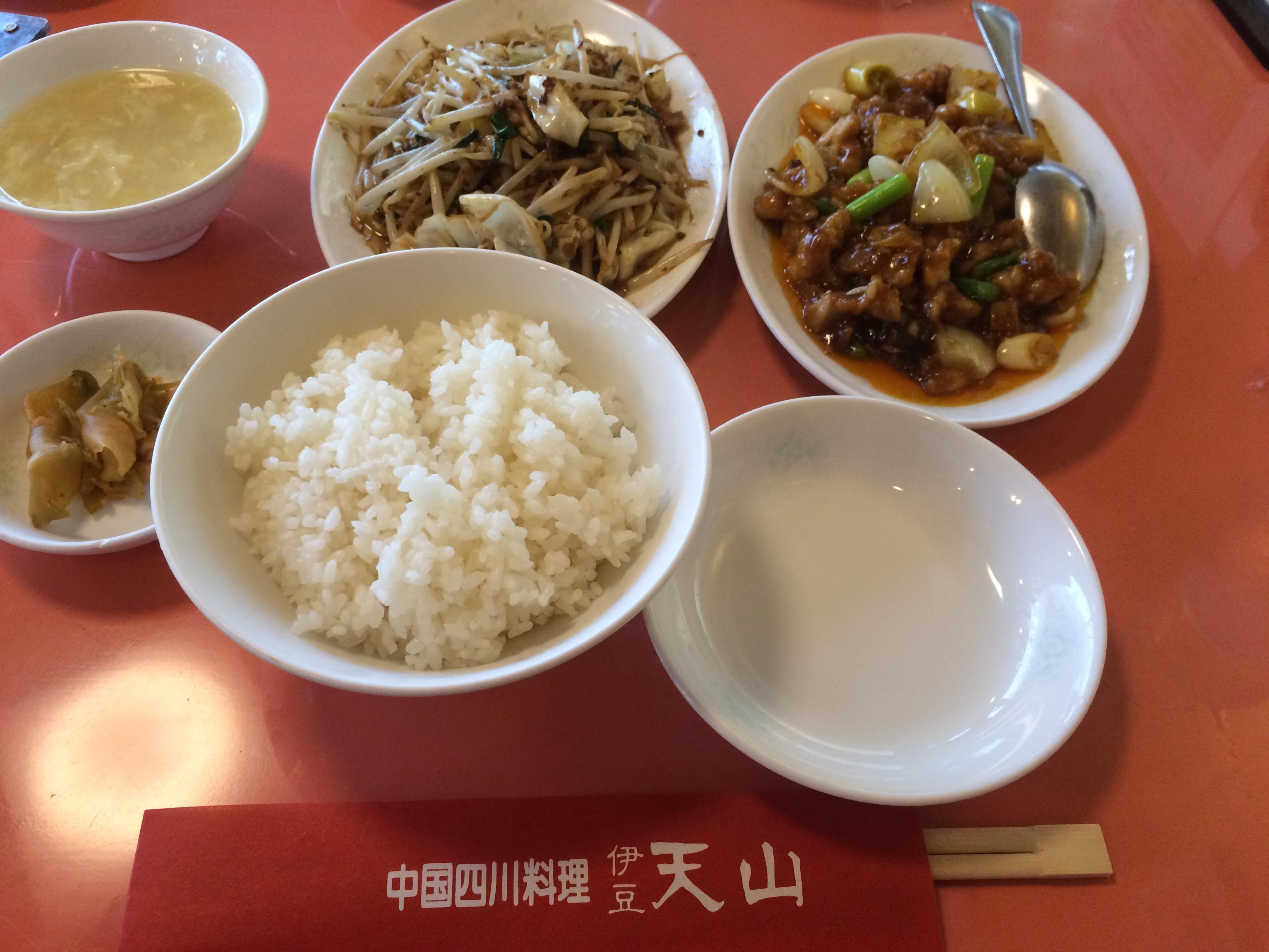 天山 四川 料理