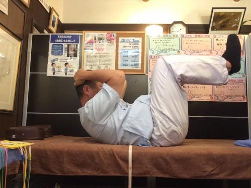 簡単腰痛予防体操その2