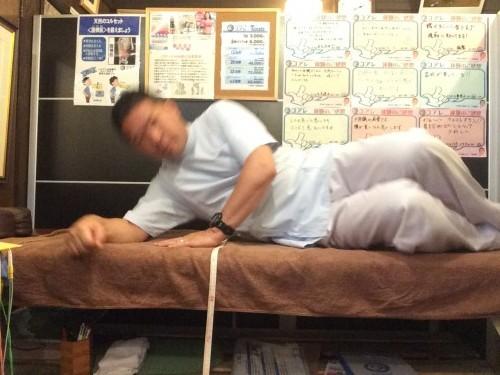 腰が痛いときの起き上がり方2