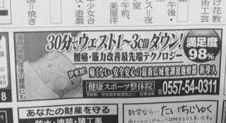 伊豆新聞 コアレ横長広告